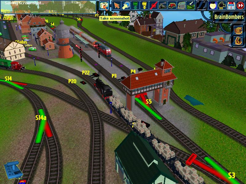 online train games